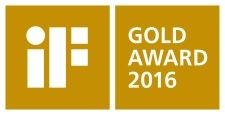 iF Design Award 2016 iF gold award