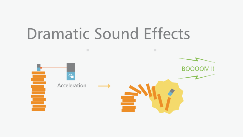 Dramatic Sound Effects Concept